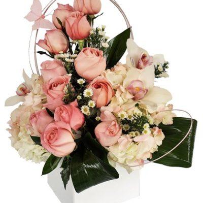 Pink Paradise Love Flowers